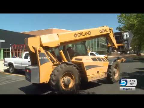 Viewmont High School students wonder if they'll be learning in a construction zone