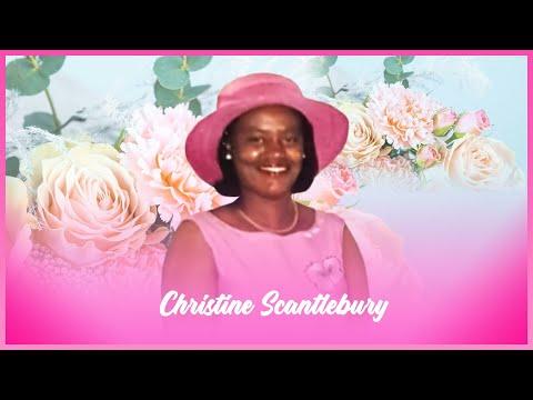 Celebrating The Life Of Christine Scantlebury