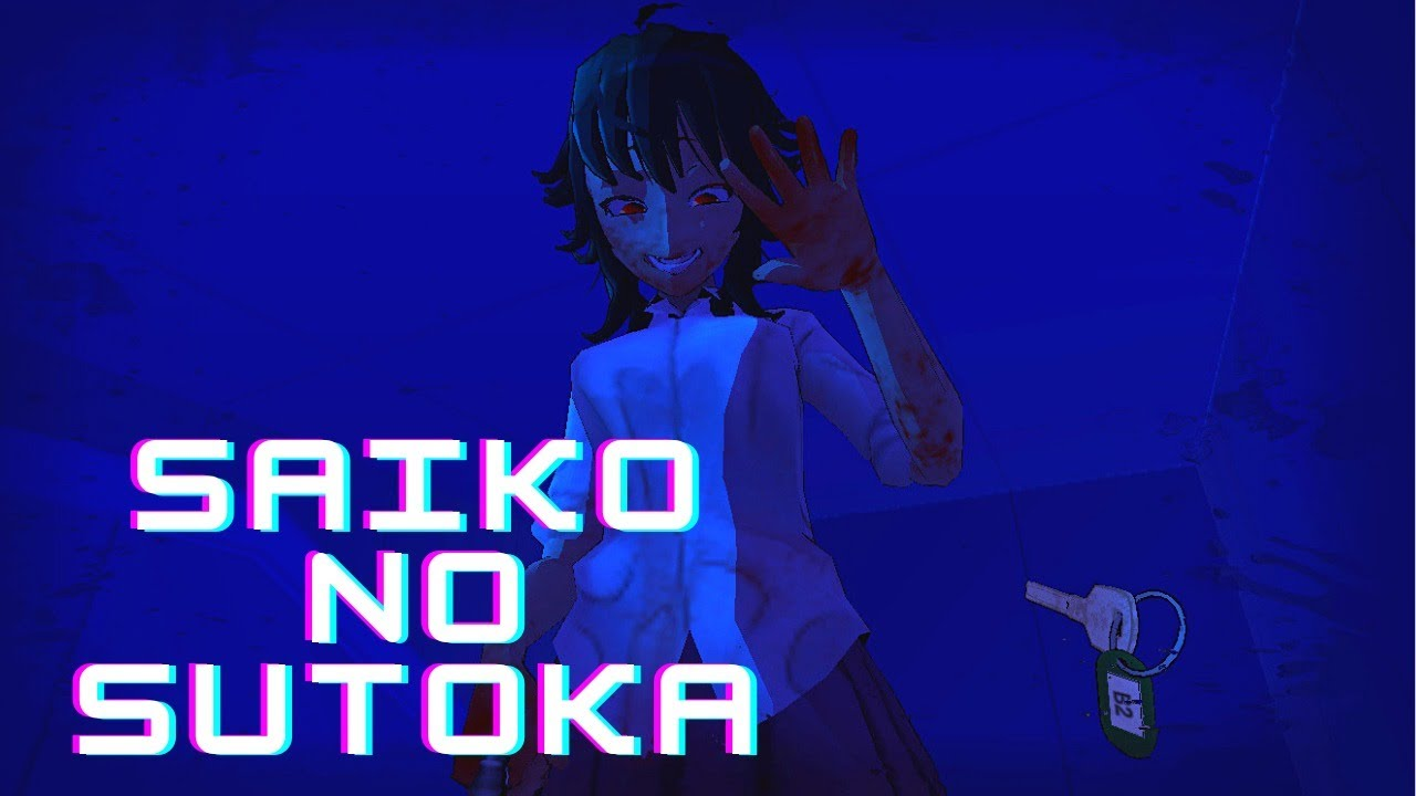 Getting chased by a YANDERE in Saiko no Sutoka ( Terrifying )