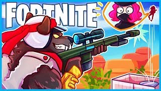 *NEW* DIRE SKIN *MID-AIR* HEAVY SNIPE in Fortnite: Battle Royale! (Fortnite Funny Moments & Fails)