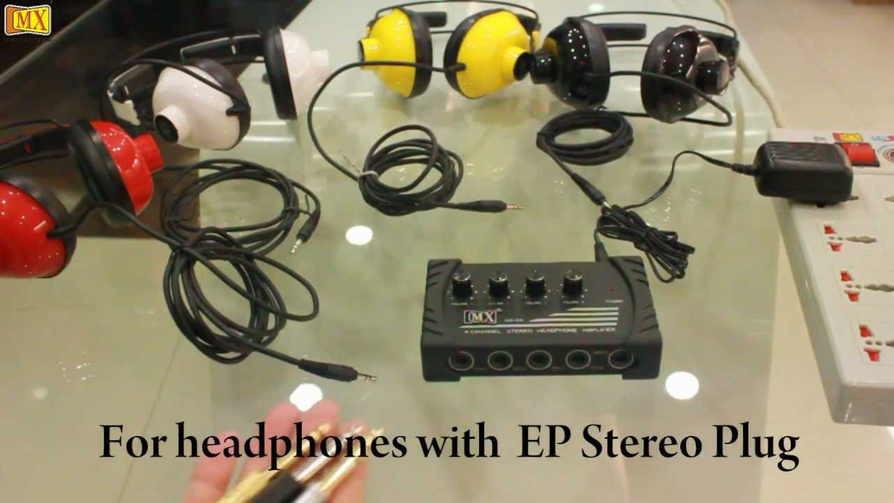 a6a922a7a87 How to use a Headphone Amplifier - YouTube