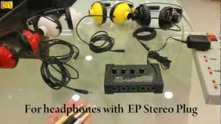 How to use a Headphone Amplifier