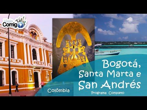BOGOTÁ, SANTA MARTA E SAN ANDRÉS - COLÔMBIA | PROGRAMA VIAJE COMIGO