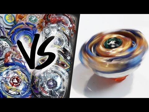 HAND-SPINNING Drain Fafnir (Spin Stealing) VS ALL BEYBLADE BURST! - EPIC Beyblade Burst Marathon!