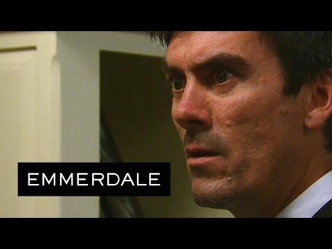 Emmerdale - Aaron Tells Cain He Had An Affair With Robert