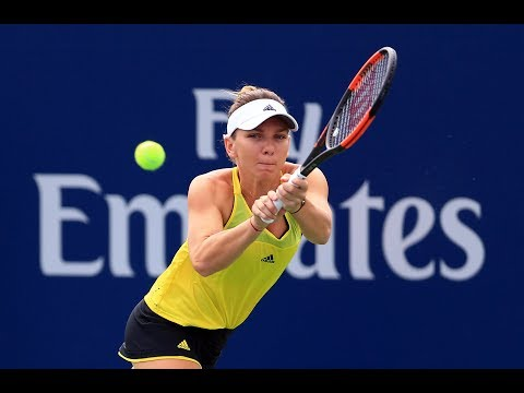 2017 Rogers Cup Quarterfinals   Simona Halep vs Caroline Garcia   WTA Highlights