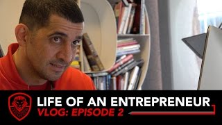A CEO Never Sleeps- Life of An Entrepreneur VLOG- Episode 2