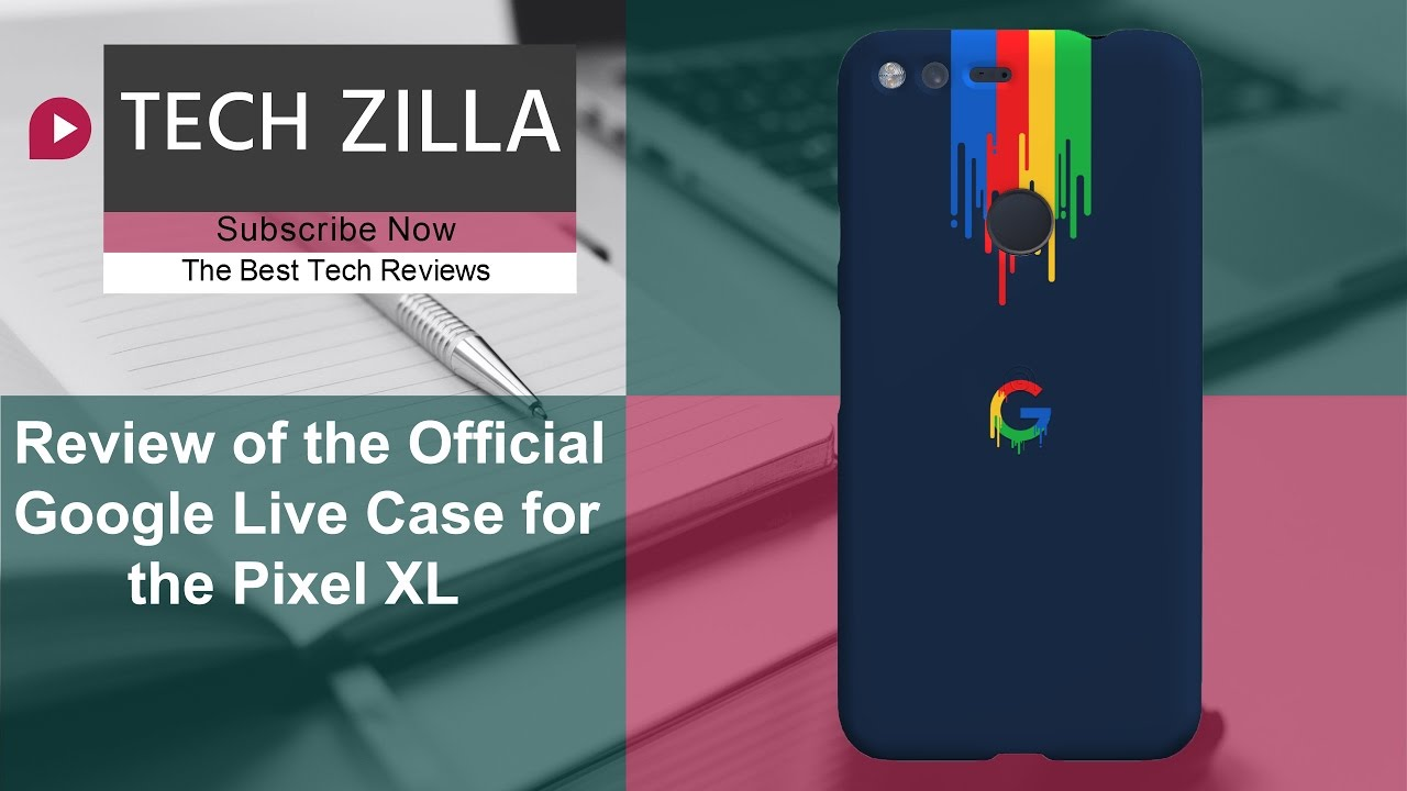 the latest b7b6a 050d6 Official Google Live Case for the Pixel XL - Review
