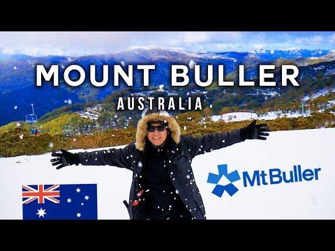 ผจญหิมะ บนยอดภูเขาสูงออสเตรเลีย  Mt Buller VLOG 48