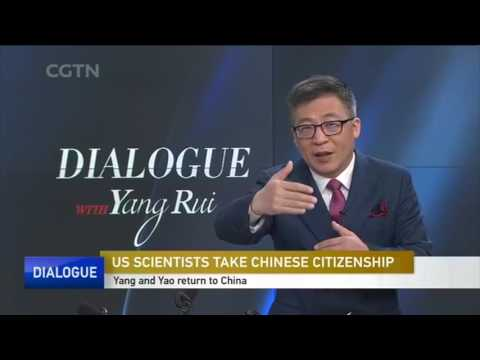 US SCIENTISTS TAKE CHINESE CITIZENSHIP   CGTN Dialogue
