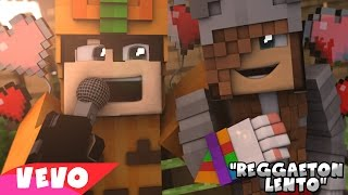 SKYWARS LENTO | CNCO - Reggaetón Lento (Bailemos) | PARODIA MUSICAL MINECRAFT Video