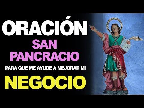 🙏 Oración a San Pancracio PARA QUE MI NEGOCIO MEJORE 🙇