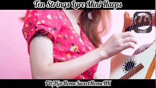 HSH最新代理????Lyre 10弦迷你豎琴????Mini Harps????