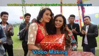Nepali lok dohori song 2016| Mayale maya lukayo| Rajan Karki & Samjhana Lamichhane Magar| Shooting