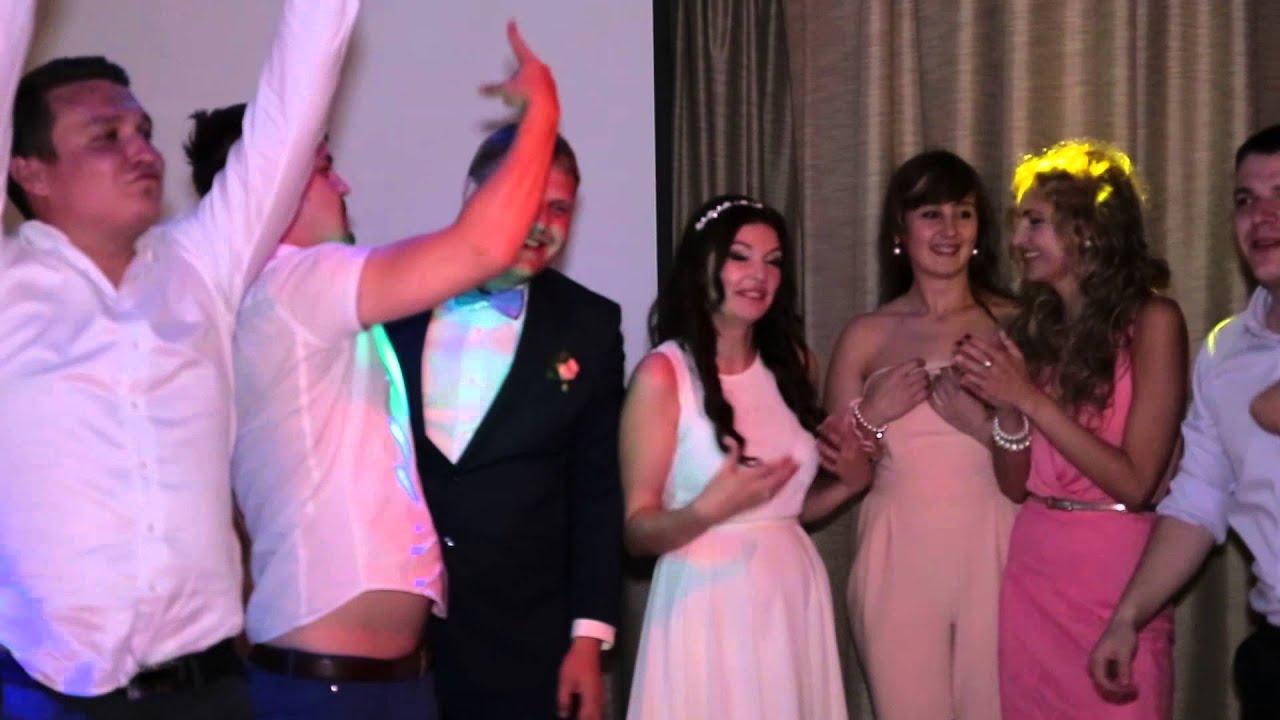 Эстафета и конкурсы на свадьбе