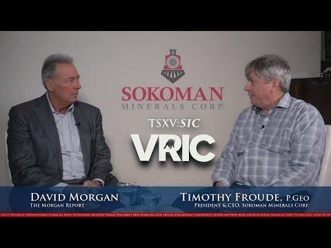 David Morgan Interviews Timothy Froude, President & CEO of Sokoman Minerals