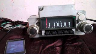 1966 ford fairlane Original AM Radio