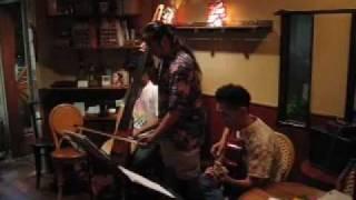 CANTO gig at Café Pensée