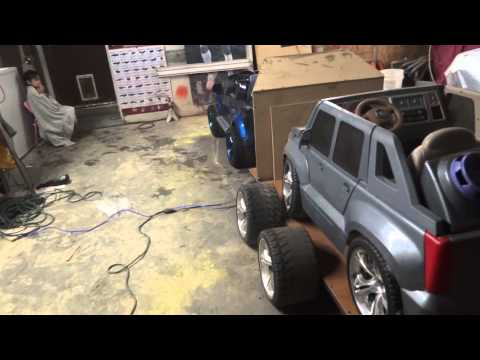 Power Wheels Trailer Custom Power Wheel Trailer