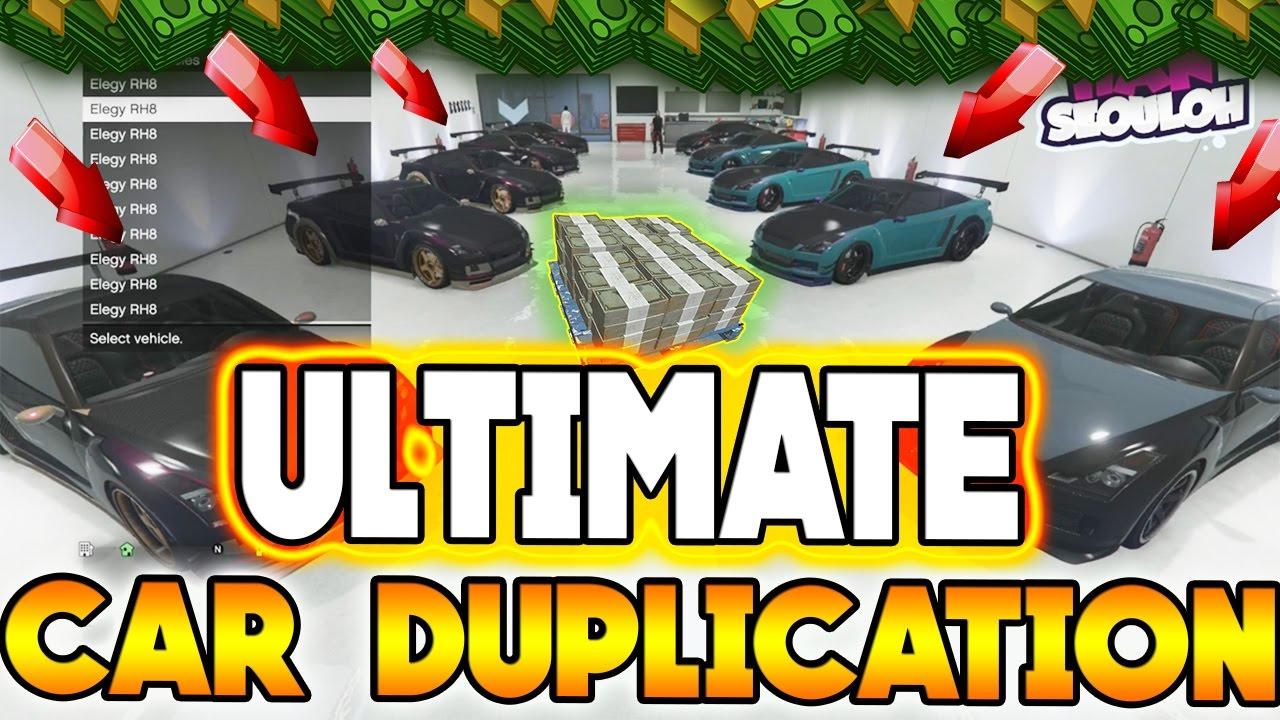 New Gta  Car Duplication Glitch