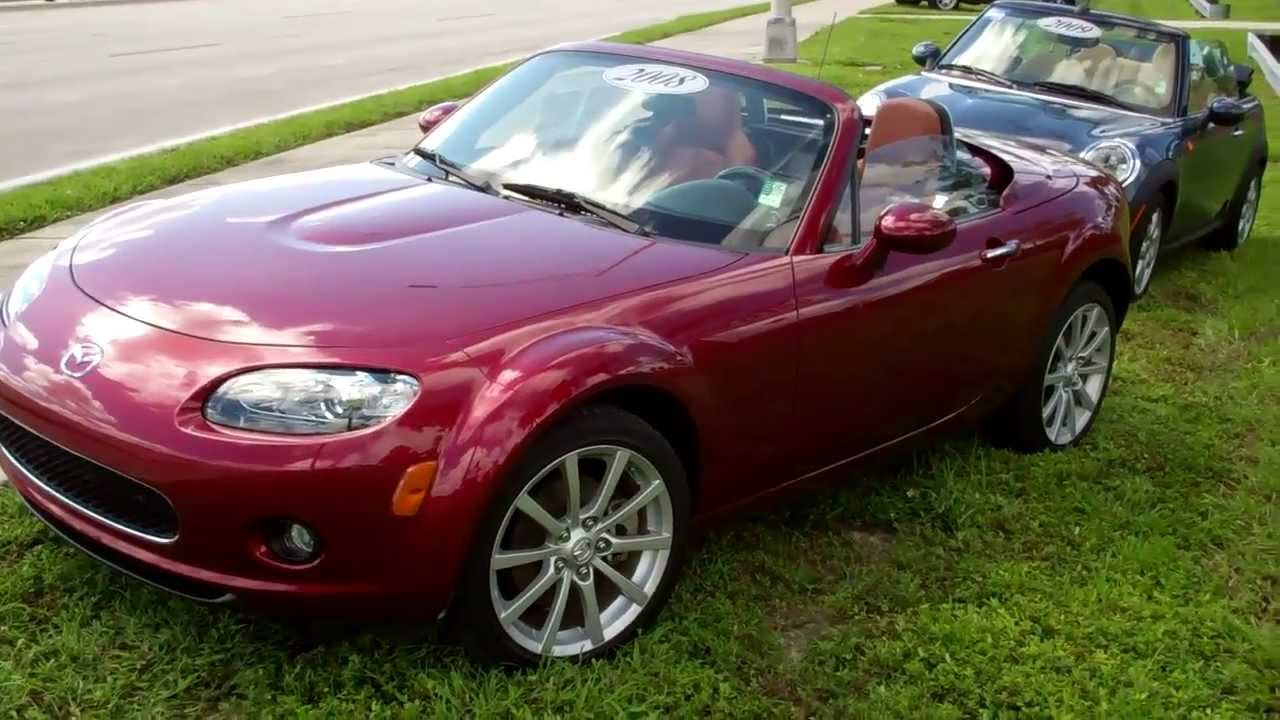 Used 2008 Mazda Miata Mx 5 Hard Top Convertible Fort Myers Florida