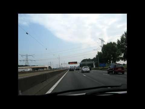 A1 Amsterdam - Hilversum, the Netherlands
