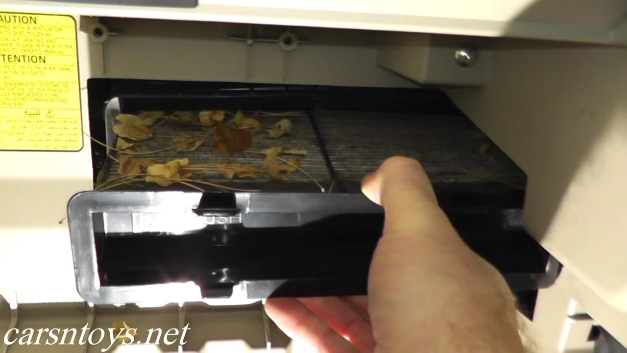 Subaru Impreza Pollen Cabin Air Filter Replacement Hd Youtube 2 0i Engine Diagrams