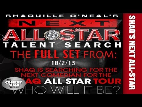 Shaquille O'Neal's NEXT ALL STAR COMEDY TOUR |FULL SET| from 10/2/13