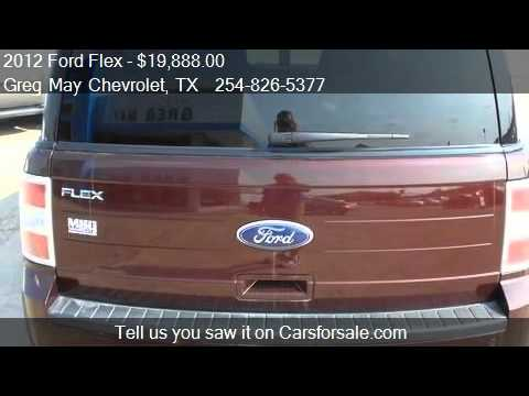 2012 Ford Flex SE 4dr Wagon For Sale In West, TX 76691 At Th