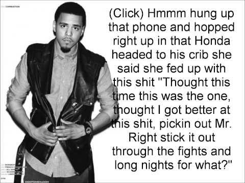 Rise Above - J. Cole (Lyrics)