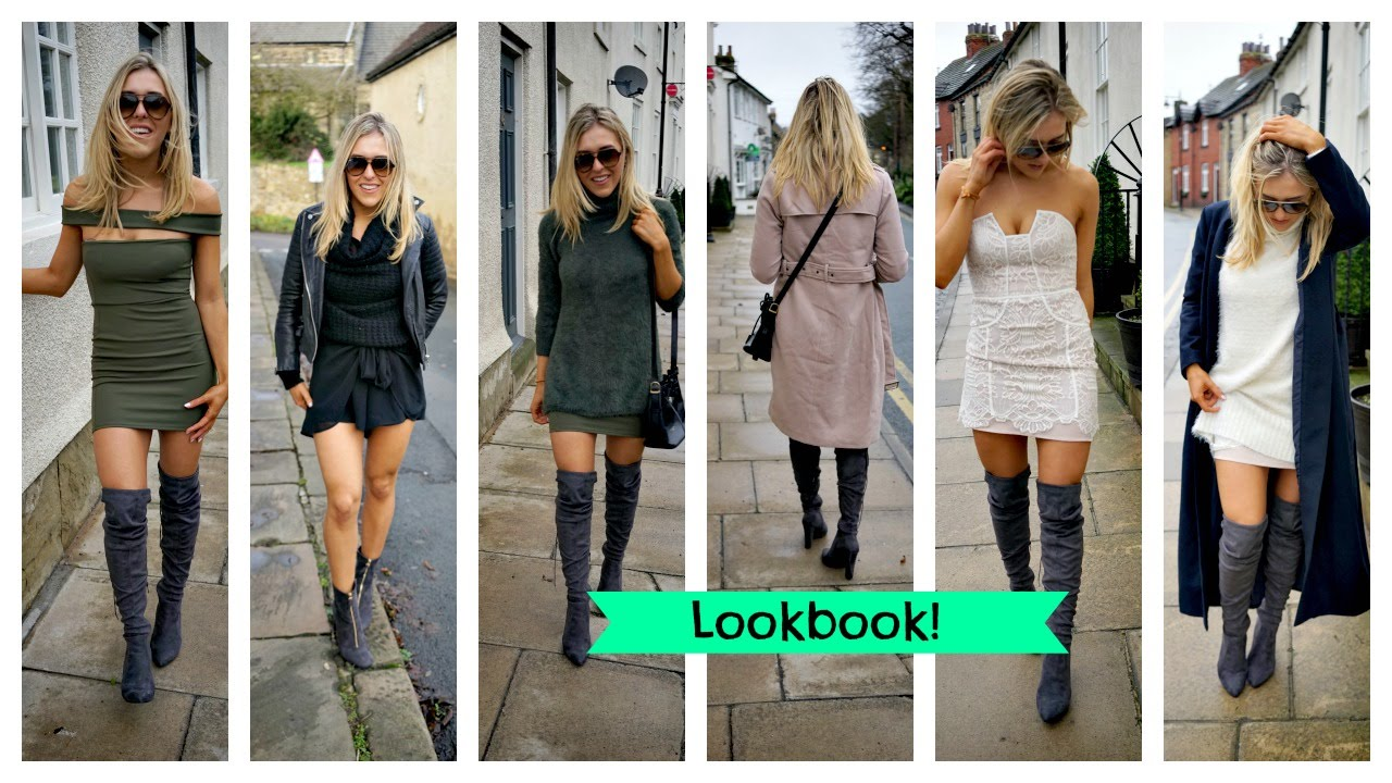 Winter Lookbook Versatile Items - My New Clothes! Knee High Boots ...