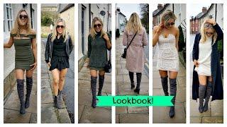 810fca14 Winter Lookbook Versatile Items - My New Clothes! Knee High Boots! |  EmTalks by Em Sheldon