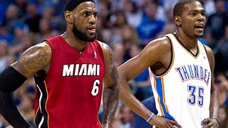 Repeat youtube video LeBron James vs Kevin Durant Full Highlights 2013.02.14 Heat at Thunder - MUST WATCH!!!