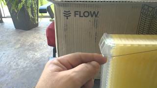 Flow Honey Frame - 1st Unboxing in Canada