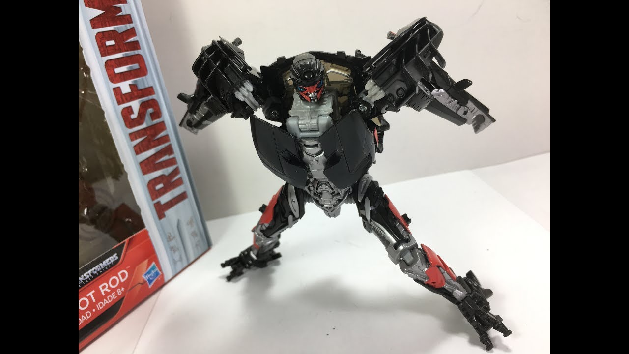transformers the last knight deluxe hot rod chefatron toy review youtube. Black Bedroom Furniture Sets. Home Design Ideas