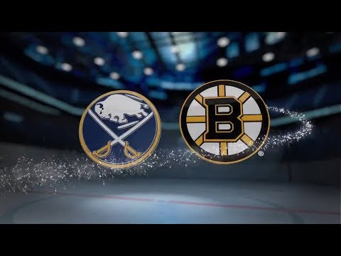 Buffalo Sabres vs Boston Bruins - October 21, 2017 | Game Highlights | NHL 2017/18 Обзор