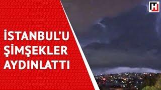 İstanbul'u ŞİmŞekler Aydinlatti