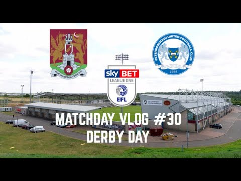 Matchday Vlog #30 | Northampton Town FC Vs Peterborough United FC | ITS DERBY DAY AGAIN | (26/08/17)