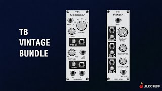 Cherry Audio Voltage Modular TB Vintage Bundle