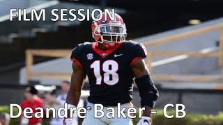 Deandre Baker (Georgia) FILM SESSION (CB) || 2019 NFL Draft