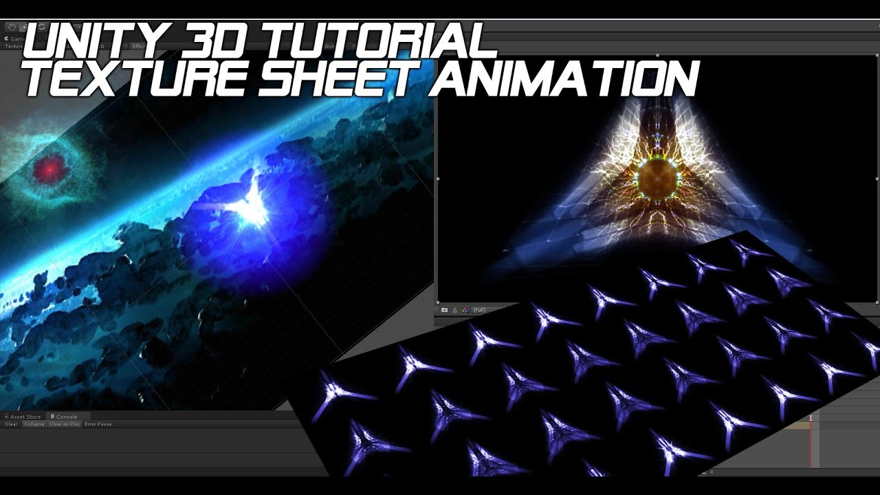 Unity 3d Tutorial Animation Texture Sheet