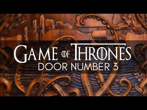 Game Of Thrones Door Number 3  Percy French  Newcastle County Down  GOT  Door Number 3