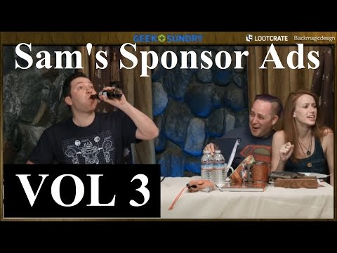 Sam's Sponsor Ads [VOL3] (Critical Role)