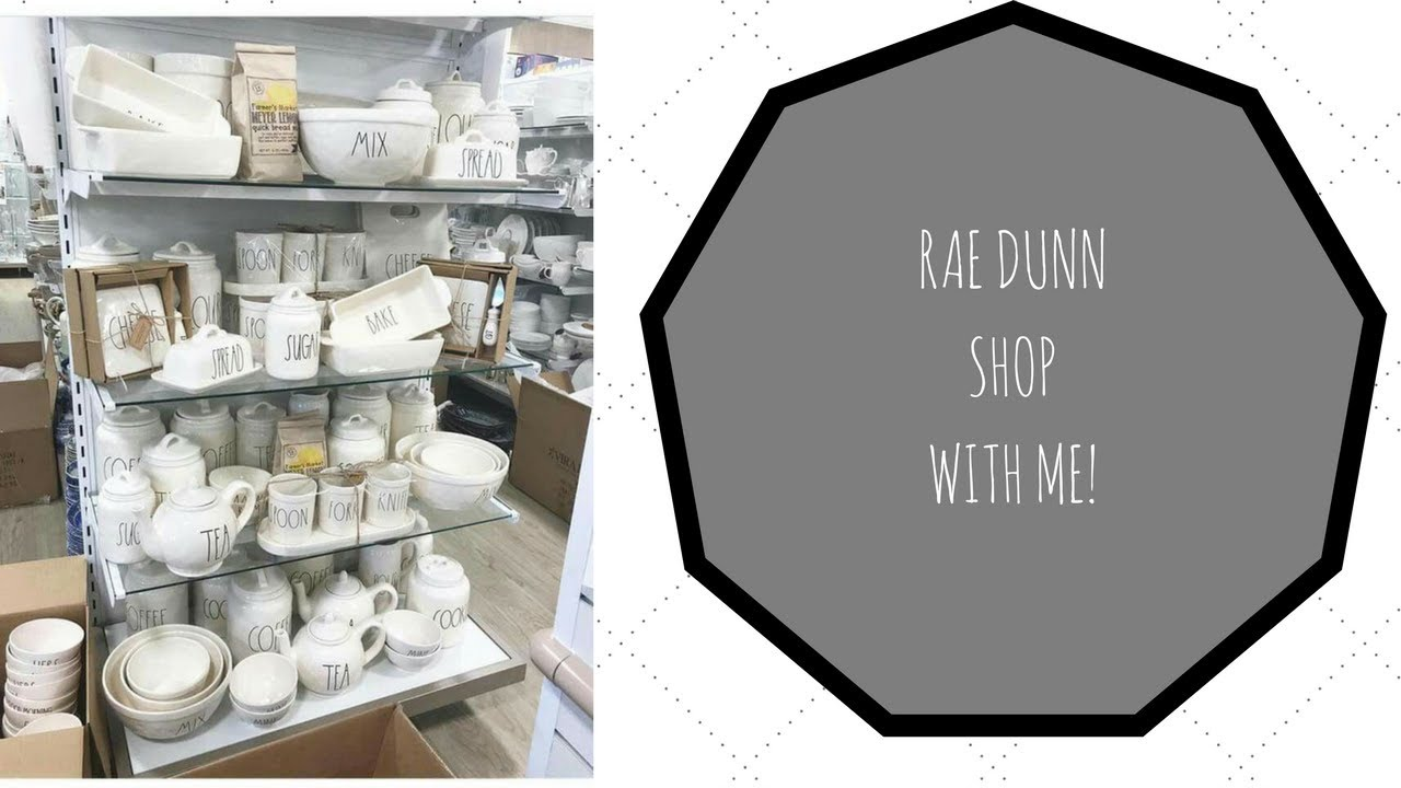 Rae Dunn Hunt With Me Tj Maxx Homegoods So Much Rae Dunn Youtube