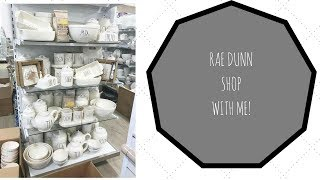 RAE DUNN HUNT WITH ME ! TJ MAXX & HOMEGOODS! SO MUCH RAE DUNN!