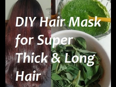 Diy hair mask for thicker hair