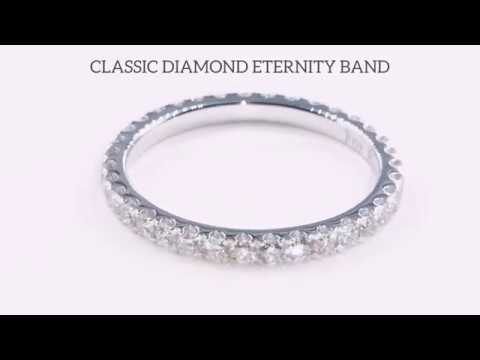 LADY'S FULL DIAMOND ETERNITY BAND BY GEMRIZE