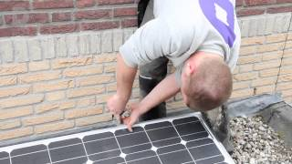 Instructievideo: Monteren zonnepanelen plat dak
