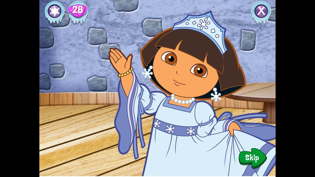 Dora The Explorer Winter Holiday Adventures Run Time 22 Minutes