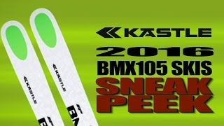 2016 Kästle BMX 105 and BMX105 HP Skis with Chris Davenport Video